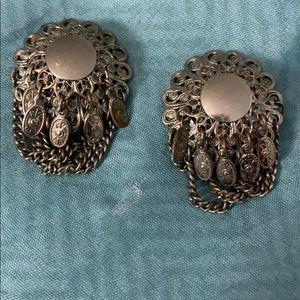 Vintage Coin Tassel Earrings🌹